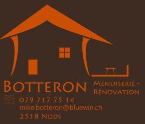 Bienvenue chez Botteron Menuiserie